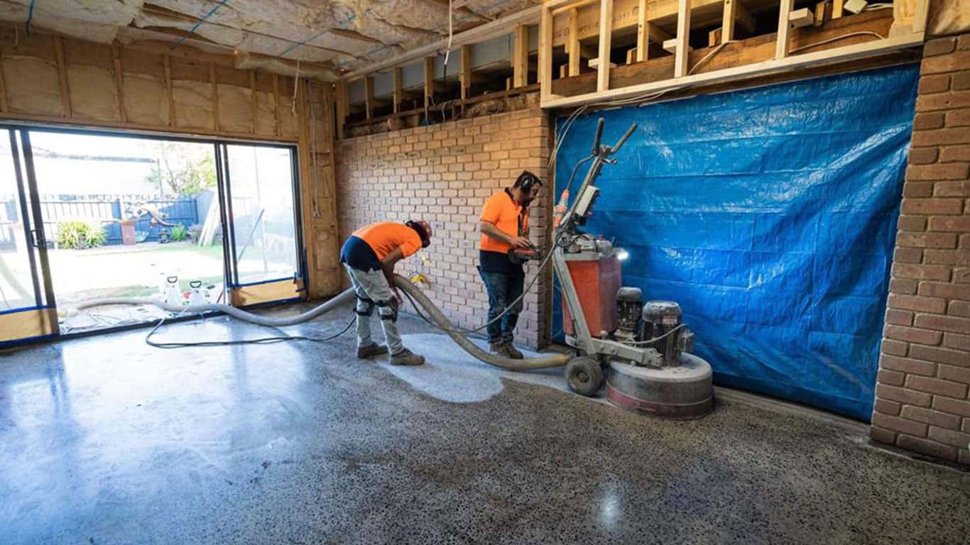Concrete Grinding Service Melbourne by Nazcrete