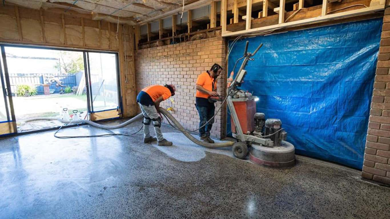 Concrete Grinding Service in Brighton, Melbourne