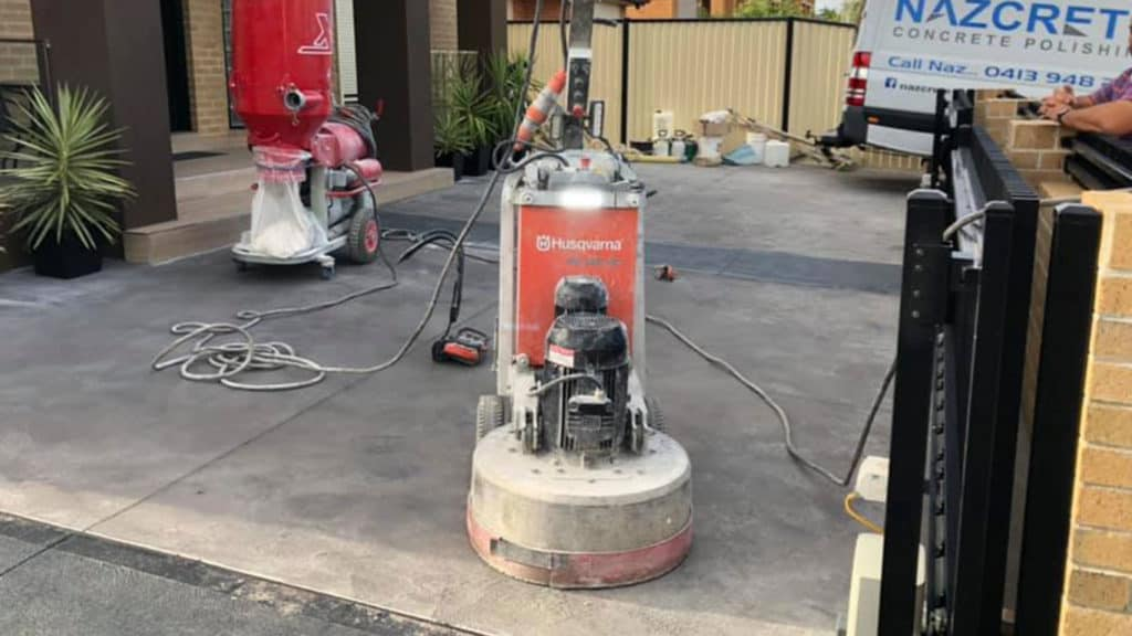Concrete Grinding in Essendon