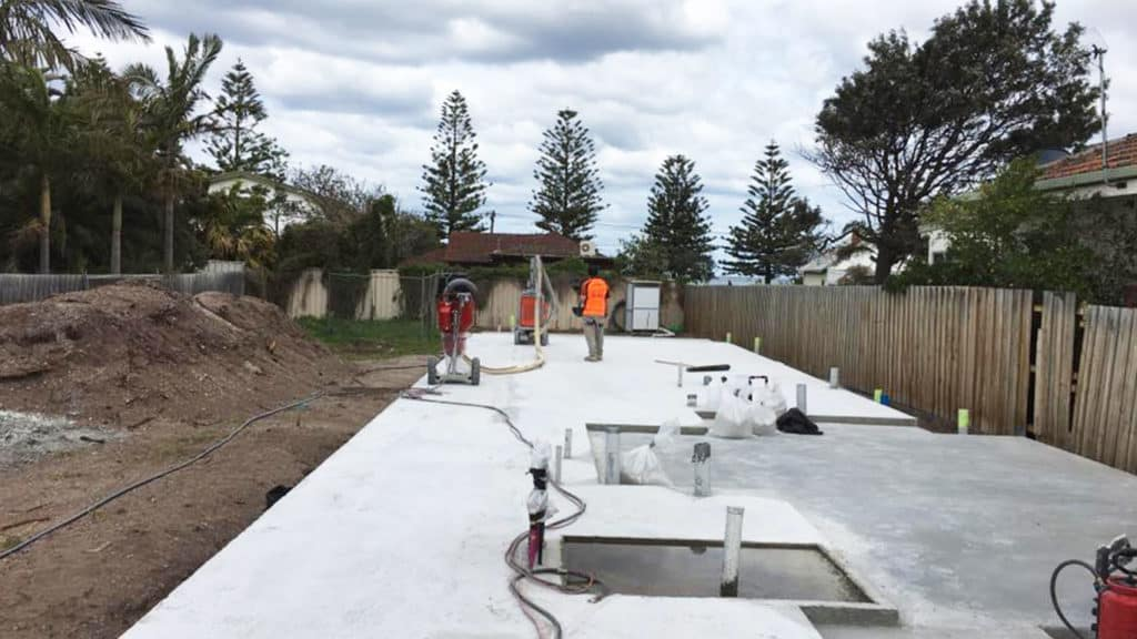 Concrete Grinding in Greensborough