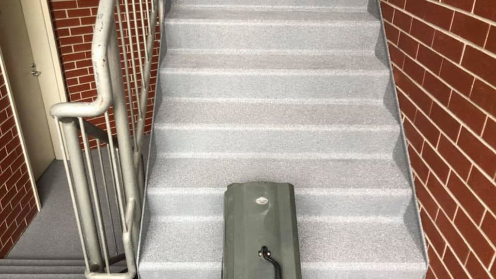 Epoxy Flooring Stairs in Melbourne