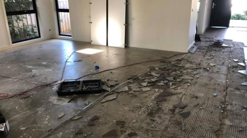 Tile Removal Service - Box Hill, Victoria